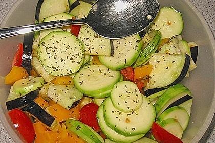 Gemüse mit Schafskäse 2