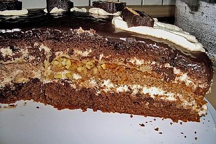 Dominostein - Torte (Bild)