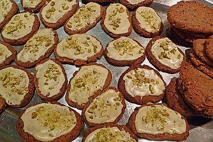 Kekse - ' Butterbrote mit Schnittlauch ' (Bild)