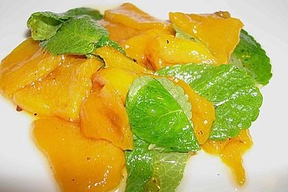 Honig-Paprika mit Minze