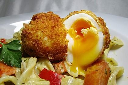 Töginger frittierte wachsweiche Eier 4
