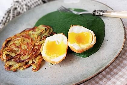 Töginger frittierte wachsweiche Eier (Bild)
