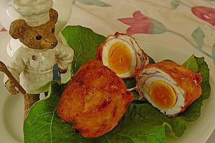 Töginger frittierte wachsweiche Eier 6