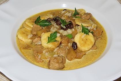 Fruchtige Curry - Rahmsuppe (Bild)