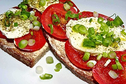 Vegetarische Brotzeit