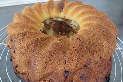 Marmorkuchen mit Mascarpone und Nougat 17
