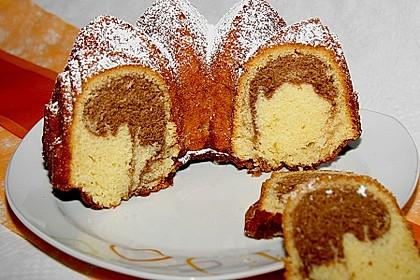 Marmorkuchen mit Mascarpone und Nougat 30