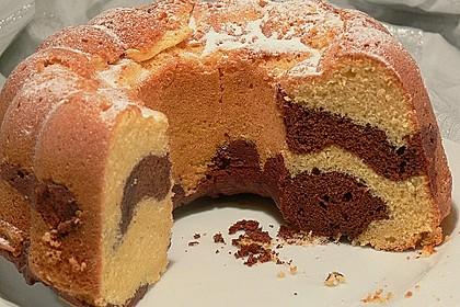 Marmorkuchen mit Mascarpone und Nougat 23
