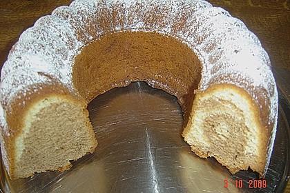 Marmorkuchen mit Mascarpone und Nougat 69