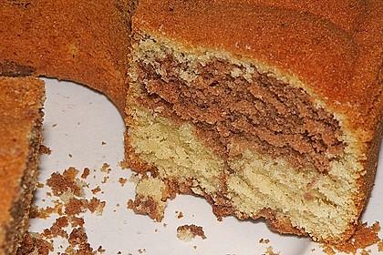 Marmorkuchen mit Mascarpone und Nougat 50