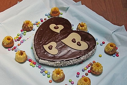 Marmorkuchen mit Mascarpone und Nougat 32