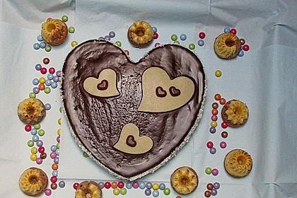 Marmorkuchen mit Mascarpone und Nougat 60