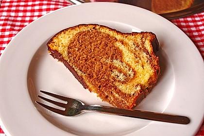 Marmorkuchen mit Mascarpone und Nougat 18