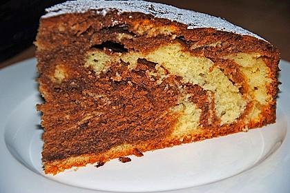 Marmorkuchen mit Mascarpone und Nougat 28