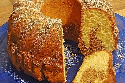 Marmorkuchen mit Mascarpone und Nougat 42