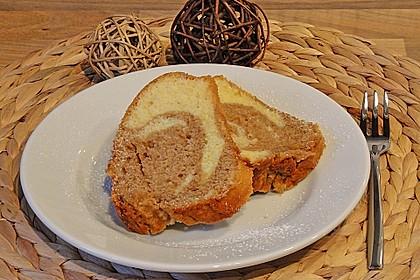 Marmorkuchen mit Mascarpone und Nougat 20