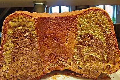 Marmorkuchen mit Mascarpone und Nougat 88