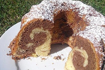 Marmorkuchen mit Mascarpone und Nougat 14