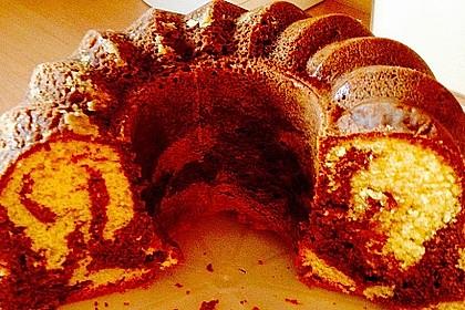 Marmorkuchen mit Mascarpone und Nougat 39