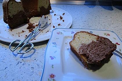 Marmorkuchen mit Mascarpone und Nougat 27