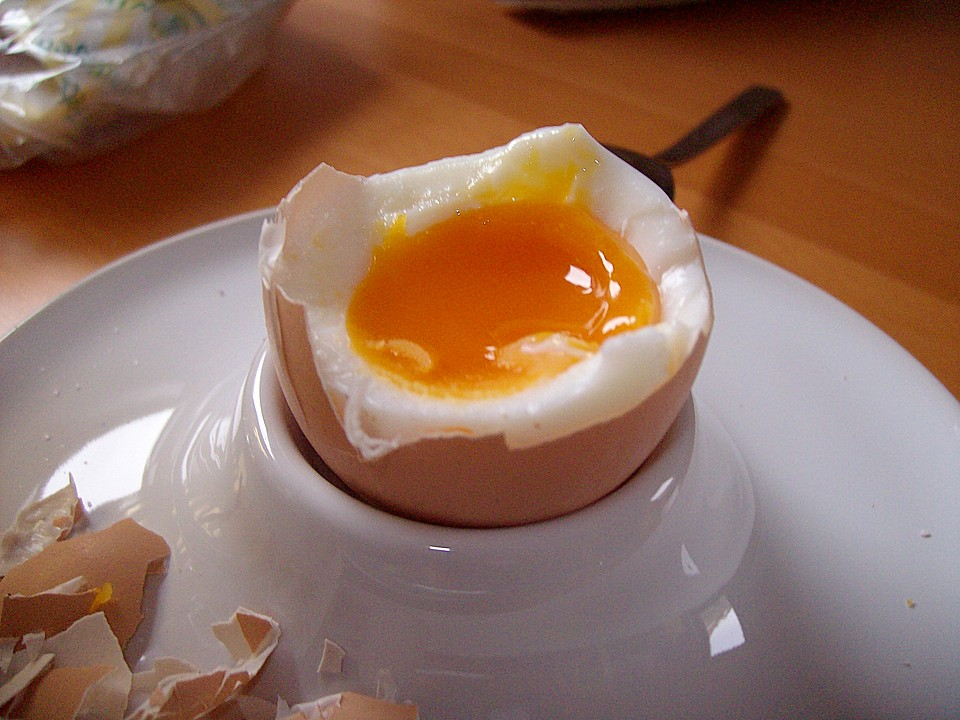 Weich Gekochtes Ei Spezialrezept Chefkochde