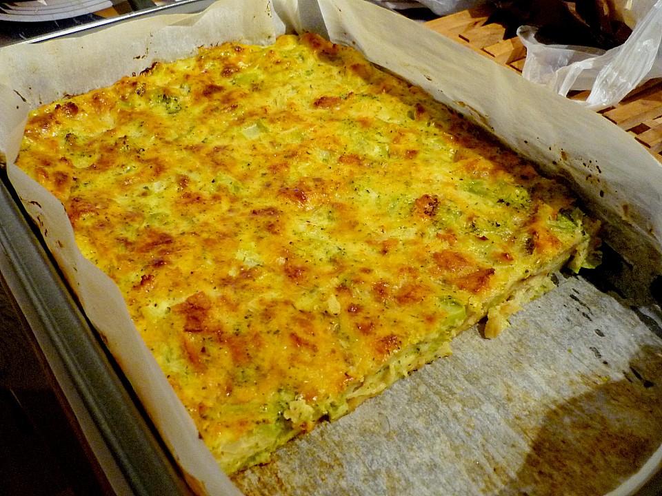 Brot Kase Kuchen Mit Gemuse Von Elanda Chefkoch De