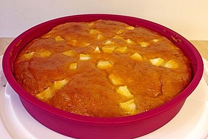 Apfelkuchen mit Puddingcreme 14