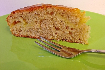 Apfelkuchen mit Puddingcreme 11