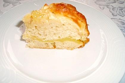 Apfelkuchen mit Puddingcreme 19