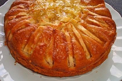 Apfelkuchen mit Puddingcreme 18