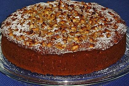 Apfelkuchen mit Puddingcreme 7