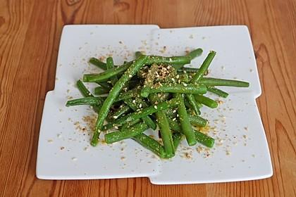 Grüne Bohnen - Salat mit Gomasio 3