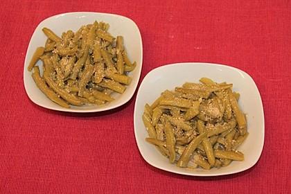 Grüne Bohnen - Salat mit Gomasio 4