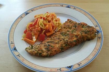 Putenschnitzel mit Kräuter-Parmesan-Panade 8