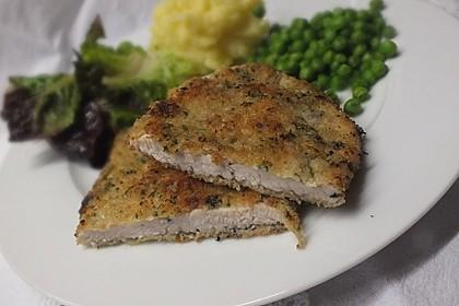 Putenschnitzel mit Kräuter-Parmesan-Panade 2