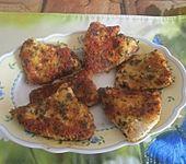 Putenschnitzel mit Kräuter-Parmesan-Panade (Bild)