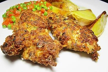 Putenschnitzel mit Kräuter-Parmesan-Panade 6