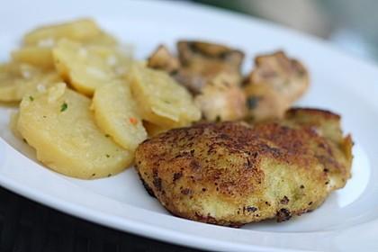 Putenschnitzel mit Kräuter-Parmesan-Panade 9