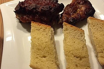 Spareribs aus dem Ofen mit Zwiebel - Honig - Knoblauch - Glasur 1