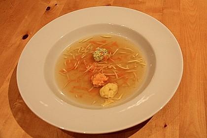Dreierlei Klößchen als Suppeneinlage 2