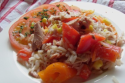 Reis - Thunfisch - Salat 7