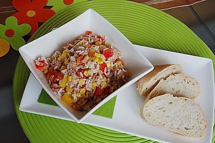 Reis - Thunfisch - Salat 1