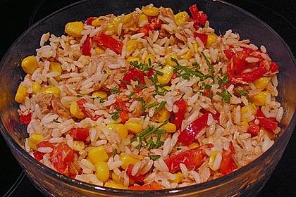 Reis - Thunfisch - Salat 6