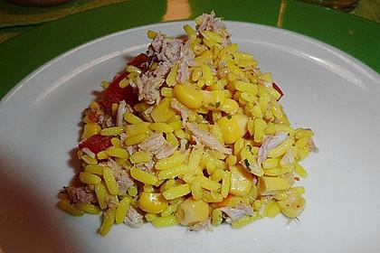 Reis - Thunfisch - Salat 12
