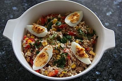 Reis - Thunfisch - Salat