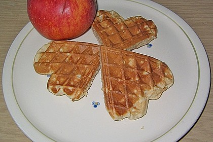 Eichkatzerls Apfel - Zimt - Waffeln 2