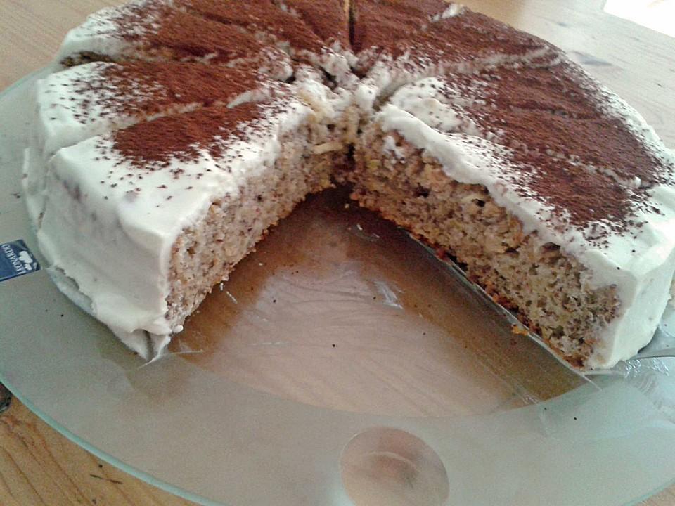 Fitness Apfel Nuss Kuchen Mit Quarkhaube Von Isi1985 Chefkoch De