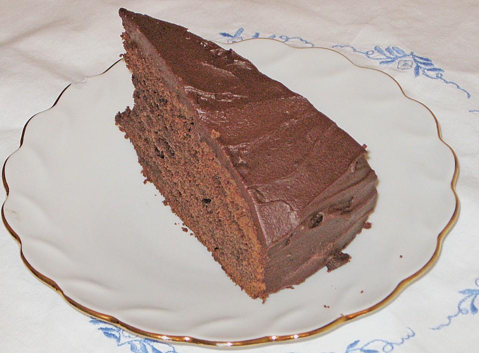 Schokoladen Rote Bete Kuchen
