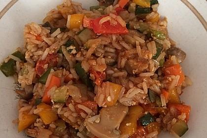 Tanjas gebratener Reis mit Gemüse 5
