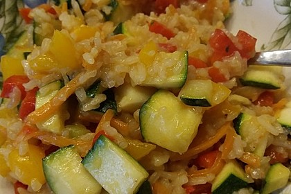Tanjas gebratener Reis mit Gemüse 7